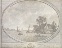 vista de lemmer, hollanda by martin de monchy