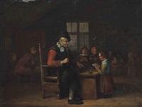 the village school by egbert van heemskerck the elder