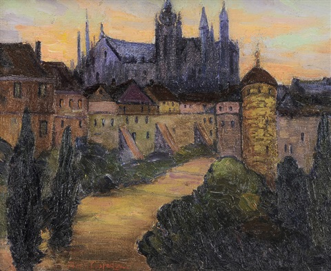 prague, summer by fern isabel coppedge
