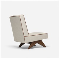 lounge chair from chandigarh by pierre jeanneret