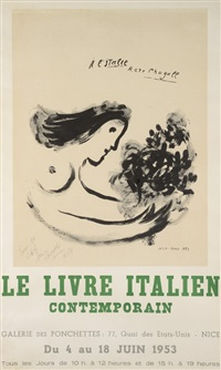 a l'italie by marc chagall