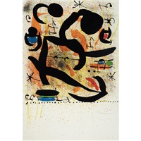 variant i by joan miró