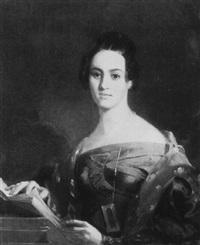 portrait of a philadelphia woman by emanuel gottlieb leutze