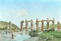 ruinas de acueducto by victor pierre huguet