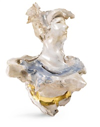 busto femminile by lucio fontana