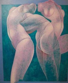 female nudes by bernard séjourné