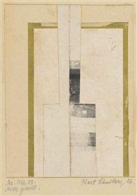 mz.1926,28. mitte geteilt by kurt schwitters
