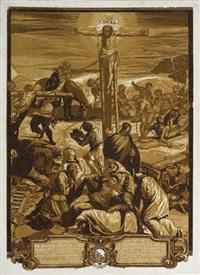 die große kreuzigung (after tintoretto) by john baptist jackson