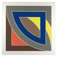 rivers of ponds i by frank stella