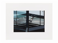 flughafen (airport) (from urban landscapes iii) by richard estes