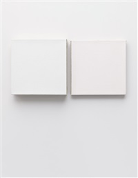 untitled (diptych) by jacob kassay