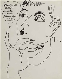 brandon de wilde smokes camels because they are so mild by andy warhol