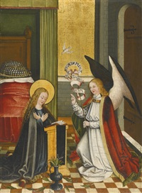 the annunciation by german school-southern (15)