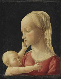 the madonna and child by jacopo del sellaio