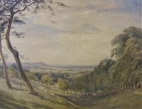 distant view of harrow by joseph murray ince