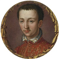 portrait of francesco i de medici by alessandro di cristofano allori
