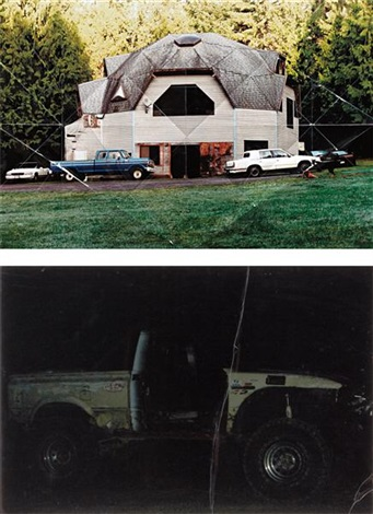 i geodesic dome house ii off road 2 works by oscar tuazon