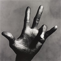 the hand of miles davis (c), new york by irving penn