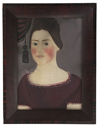 portrait of a girl by american school-prior-hamblen (19)