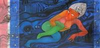 poster girl (nude woman) by babu xavier
