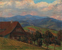 chalet dans la montagne by alois bilek