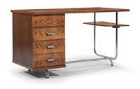 desk (model no. h-180) by jindrich halabala