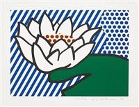 water lily by roy lichtenstein