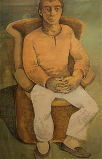 contemplation by benedicto cabrera