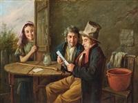 levelet olvasó férfiak by charles hunt