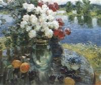les bouquets pres de la riviere by viatcheslav nabatov