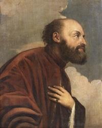 portrait d'homme de trois-quarts by titian (tiziano vecelli)