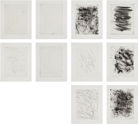 64 set of 10 by christopher wool