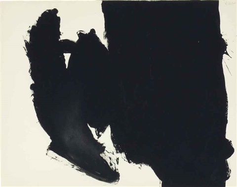 untitled (elegy) by robert motherwell