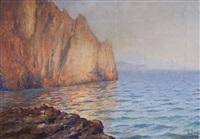 skalisty brzeg capri by soter jaxa-malachowski