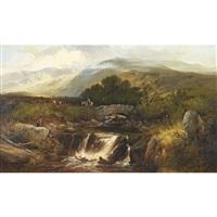 highland landscape by joseph adam