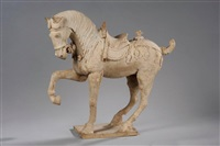 cheval princier by anonymous-chinese (tang dynasty)