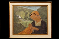 la brodeuse by paul sérusier