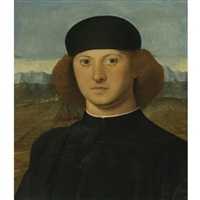 portrait of a young man, alvise de franceschi (?) by marco basaiti