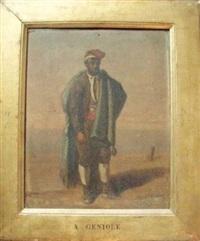 pêcheur by alfred andré géniole