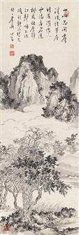 溥 儒(1896-1963) 江畔观云 by pu ru