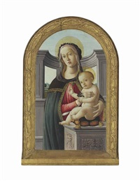 the madonna and child with a goldfinch by sandro botticelli