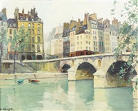 bridge over the seine by constantine kluge