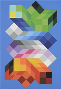 eguer by victor vasarely