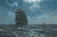 the southern cross by montague dawson