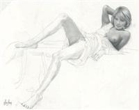 jeune fille 3 by aslan