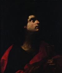 san giovanni evangelista con il calice by flaminio (dagli ancinelli) torri