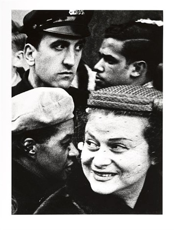 four heads new york by william klein