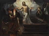 resurrection of christ by hans rottenhammer the elder