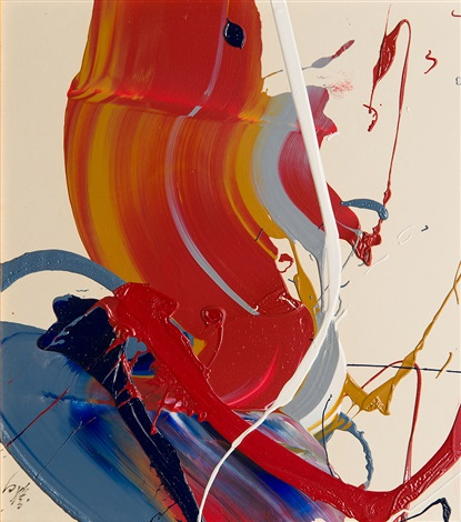 work by kazuo shiraga
