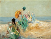 beach belles by john banks